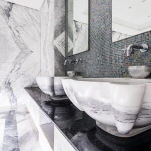 Ванная, хамам из натурального камня