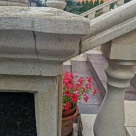 Входная группа из бетона - До облицовки гранитом